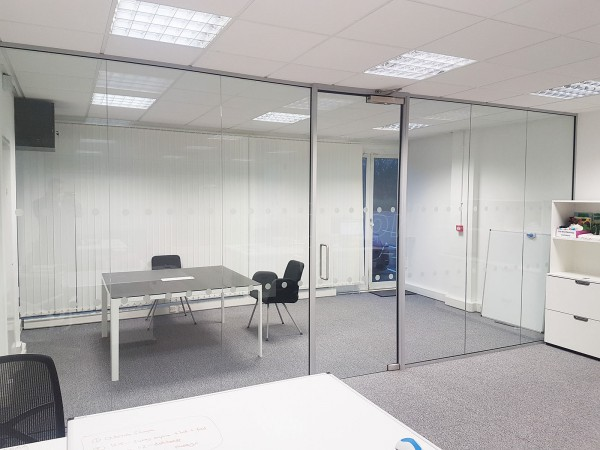 Smith & Henderson Ltd (Linford Wood, Milton Keynes): Office Glass Wall