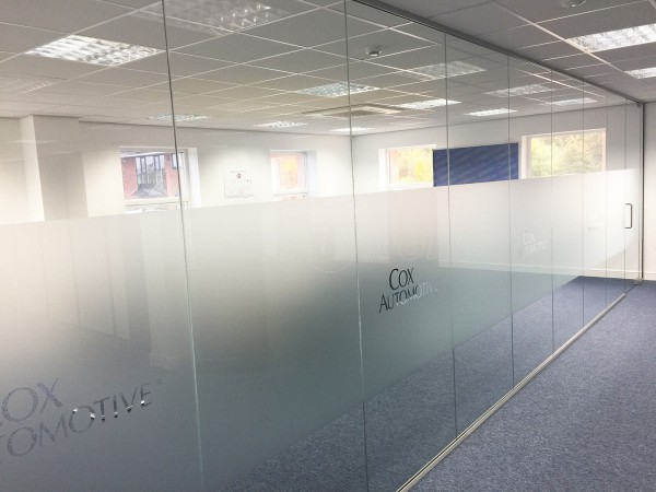 We Want Any Car Ltd (Staffordshire): Glass Partition Wall And Glass Door
