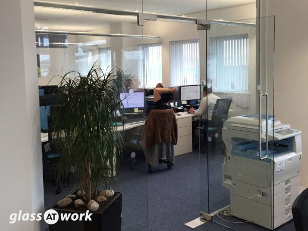 Global Wind Service (Lowestoft): Glass Office Partition