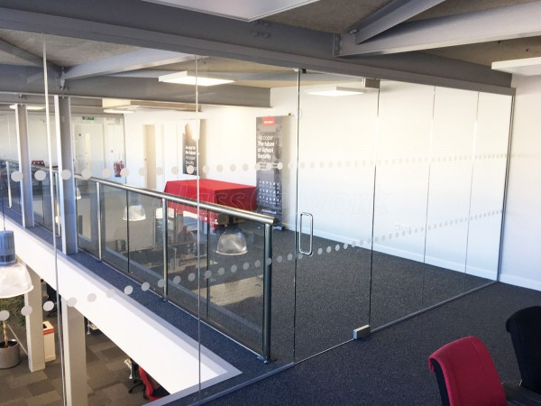 Allcoopers Limited (Kingsholm, Gloucester): Glass Partition For Mezzanine