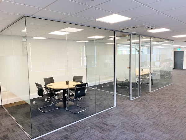 GLX Limited (Norwich, Norfolk): Frameless Glass Meeting Rooms With Soundproofing