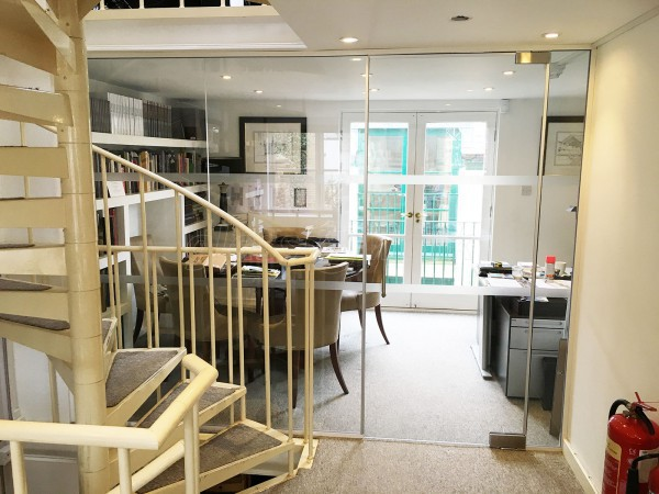 Gosling Ltd (Clapham Town, London): Small Glass Partition