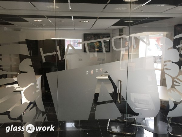 Hatton Academy (Manchester): Glass Office Partition