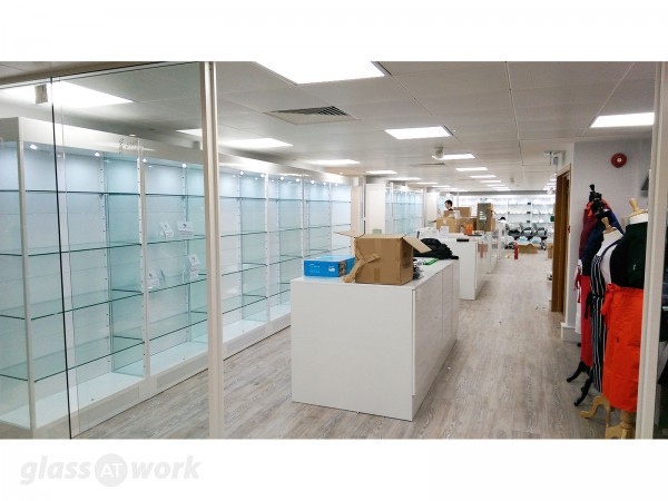 HDI Ltd (West End, London): Double Glazed Partition