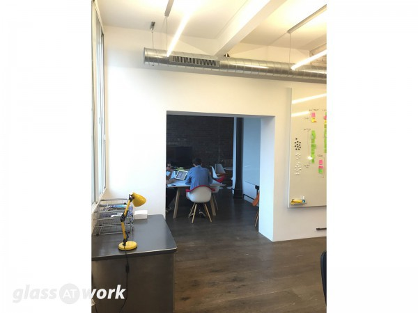 Hiveworks Ltd (London, EC1): Glass Double Doors