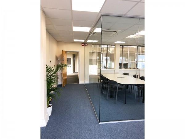 IPassport Limited (Croydon, Greater London): Three Sided Glass Room and Glazed Office