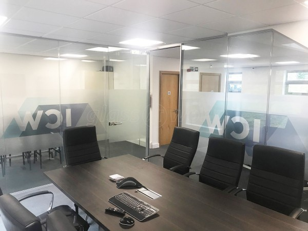 ICW Building Control (South Shields, Tyne and Wear): Double Glazed Corner Boardroom With Soundproofed Glazing