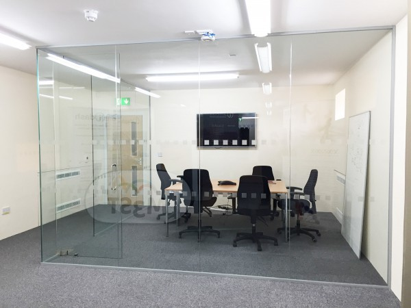 i-dash Ltd (Cambridgeshire): Single Glazed Glass Partitioning