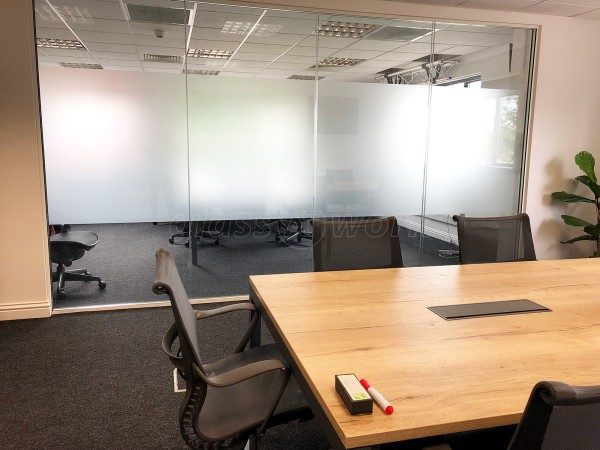 Acoustic Double Glazed Glass Office Partitioning