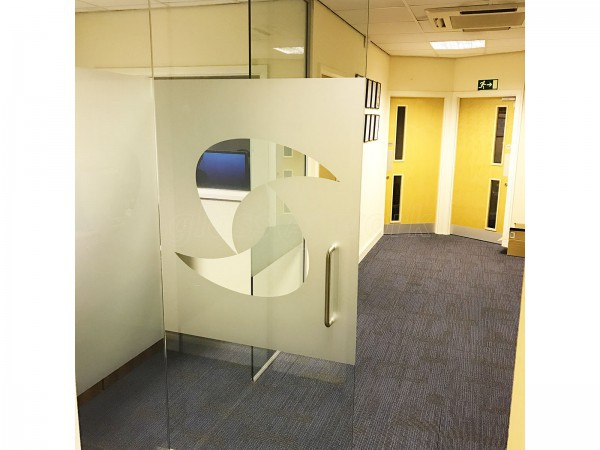 One Step Solutions LLP (Huntingdon, Cambridgeshire): Small Glass Partition And Glass Door