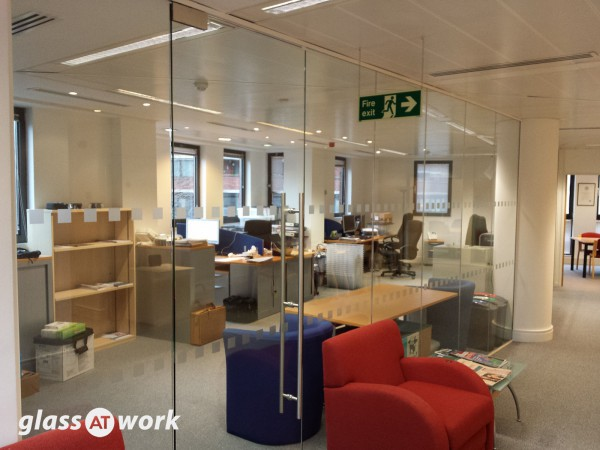Investment Company (Westminster, London): Office Partitioning