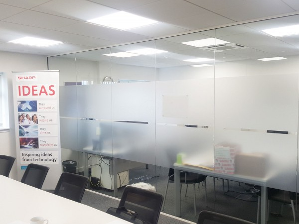 Workspace 365 (Swanley, Kent): Glass Office Partition With Timber Door