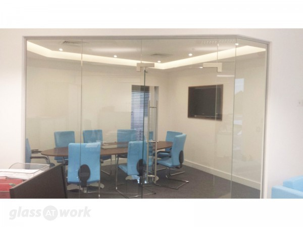 Kingswood Homes (Preston, Lancashire): Glass Office Partitioning