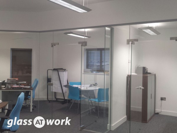 Pivot Frameless Glass Doors