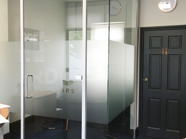 RDC Solicitors (Ilkley, West Yorkshire): Laminated Acoustic Glass Office Pod