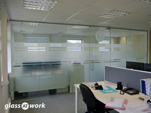 Laurence Associates (Cornwall): Glass Office Partition