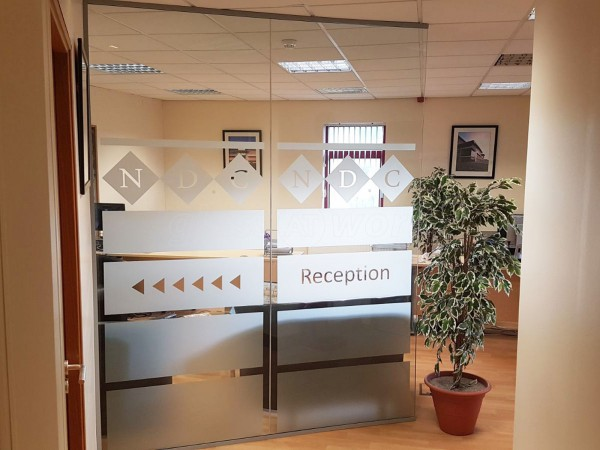 National Design Consultancy (Morley, Leeds): Open Ended Glass Partition / Glass Office Divider