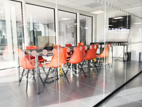 The Media Image (Lambeth, London): Acoustic Glass Office Partitions