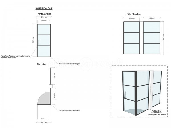 Domestic Project (Brockley, London): T-Bar Warehouse-Style Glazing With Black Frame