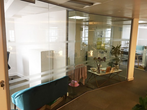 Above & Beyond Construction Ltd (Haymarket, London): Glass Office Commercial Interior Fit-Out