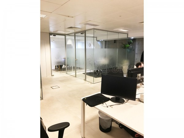 Ayima Ltd (Barbican, London): Office Partitions For A Glass Meeting Room