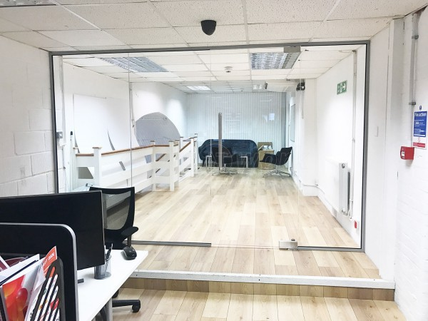 Digital Results (Clerkenwell, London): Glass Office Partition