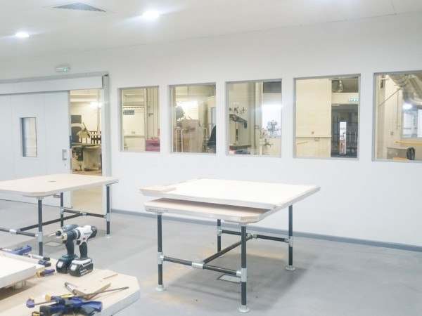 Fredereck Sage Co Ltd (South Bank, London): Laminated Acoustic Glass Internal Windows