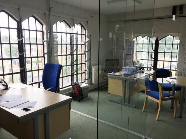 Hoffmann Foundation For Autism (Islington, London): Glass Office Walls and Doors