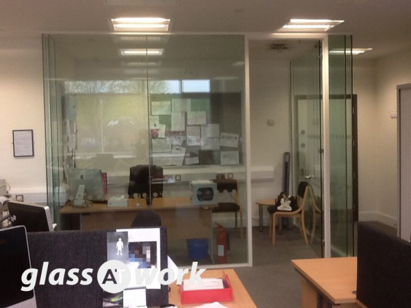 Longfield Academy (Kent): Double Glazed Corner Office