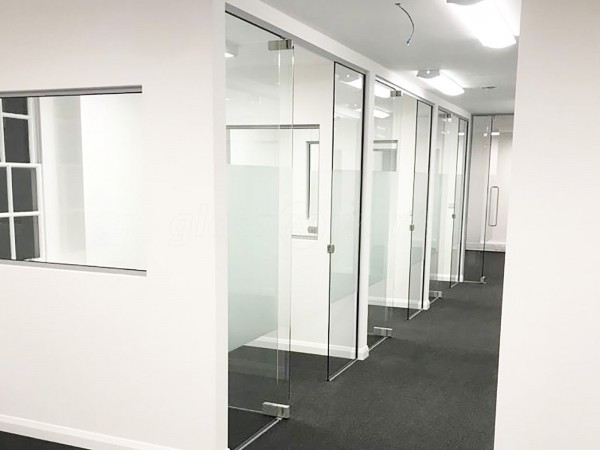 LS Studio London Ltd (Blackfriars, London): Commercial Glass Office Installation