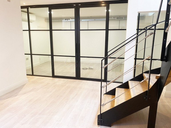 LS Studio London Ltd (Holborn, London): Warehouse-Style Glazing With Black Frames