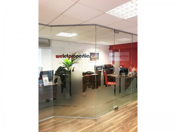 We Let Properties (Central Manchester): Glass Partition With Skyline Film Manifestation