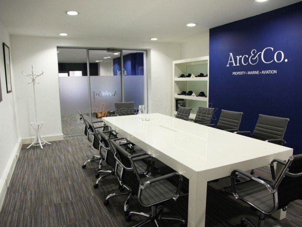 Arc & Co (Mayfair, London): Acoustic Glass Office Partition