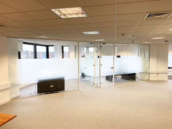 J Mitson Building Contractors (Chelmsford, Essex): Multiple Office Fitout in Single Glazed Acoustic Glazing