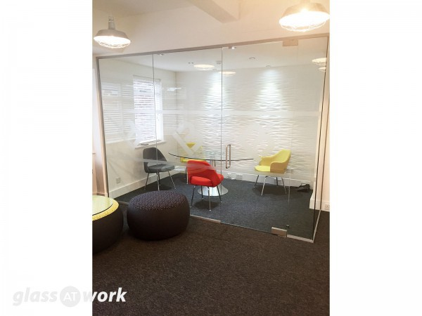 Mortgage Business (Brentwood, Essex): Glass Office Partitioning