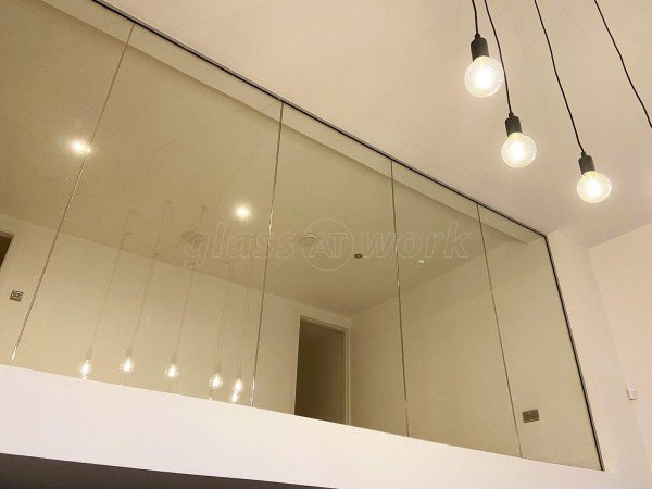 Residential Project (Liverpool, Merseyside): Laminated Glass Wall For A Mezzanine