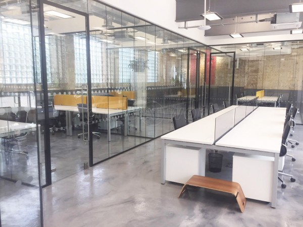 M Squared London Ltd (London): Commercial Glass Office Partition Fit-out