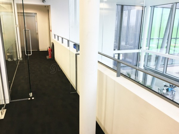Niftylift Ltd (Milton Keynes, Buckinghamshire): Mezzanine Glass Wall Partition For Atrium