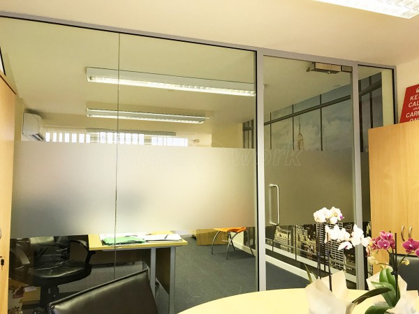 Glass Partitioning at ABA Engineering (Sevenoaks, Kent): Glass ...