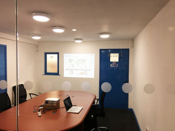 AKKA Technologies Ltd (Crewe, Cheshire): Office Partition Using Glass