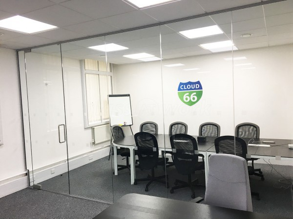 Cloud 66 Ltd (London): Office Partition in Glass