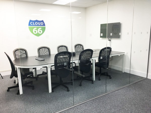 Cloud 66 Ltd (Chancery Lane, London): Office Partition in Glass