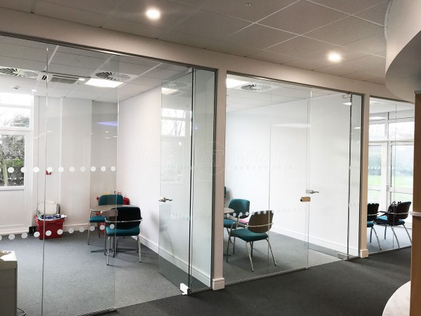 Leisure Technique Ltd (Hull, East Yorkshire): Single Glazed Glass Office Partitioning