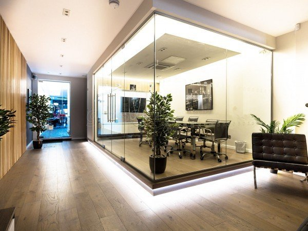 Panache Group (Croydon, London): Glass Office Partitions in London