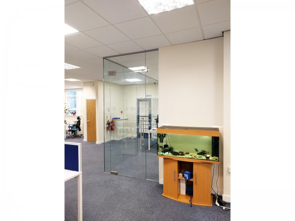 Vulcan Seals (Sheffield): Toughened Glass Office Partitions
