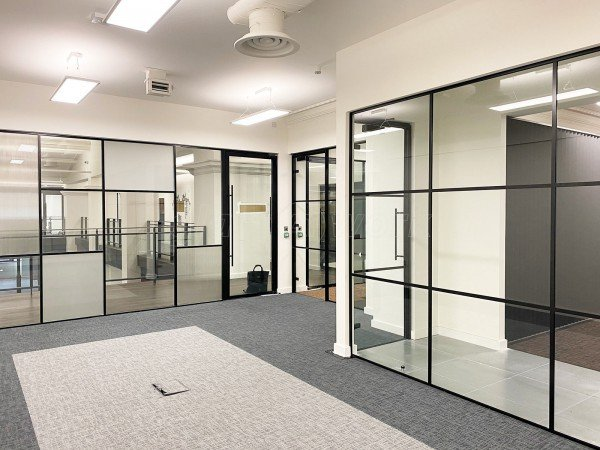 Octopus Architects (Liverpool, Merseyside): Industrial-Style Glass Walls Installation