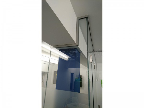 Perceptive Medical Education (Edinburgh): Glass Office Partition