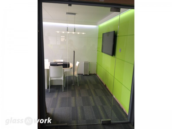 Priority Exhibitions Limited (Coventry): Glass Office Door