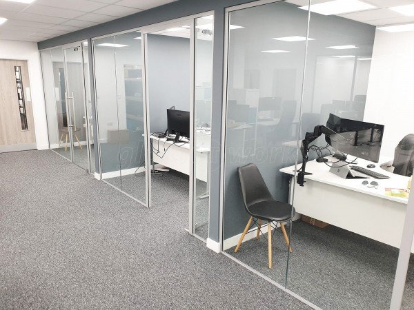 Prodigy IT Solutions (Blandford, Dorset): Office Fit-Out With Laminated Acoustic Glazing