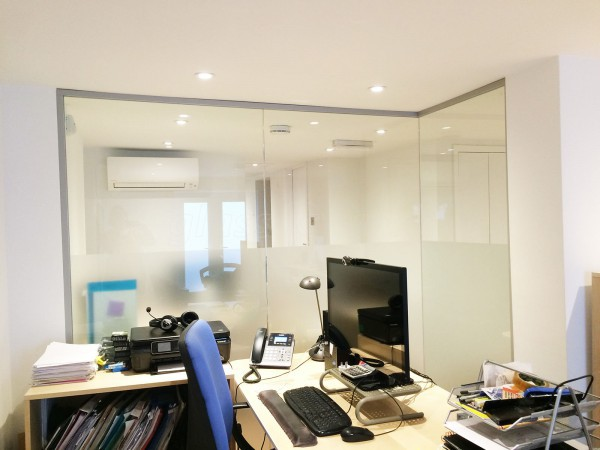 Quietus Management (London, NW1): Acoustic Interior Glazed Walls